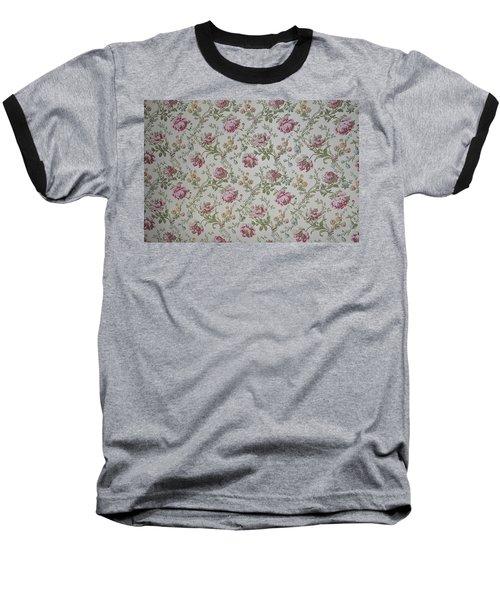 Roses Baseball T-Shirt by Thomas M Pikolin
