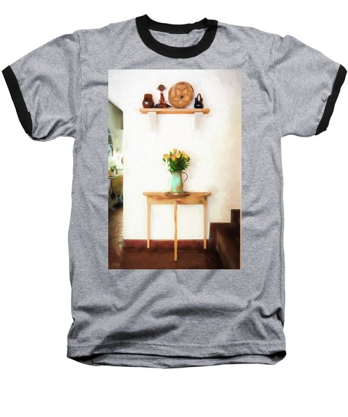 Rose's On Table Baseball T-Shirt