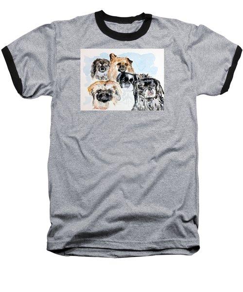 Rose's Pekingese Baseball T-Shirt