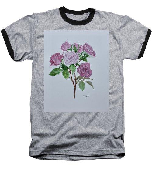 Roses Baseball T-Shirt