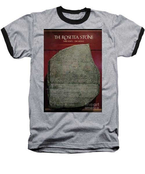 Rosetta Stone Replica Baseball T-Shirt