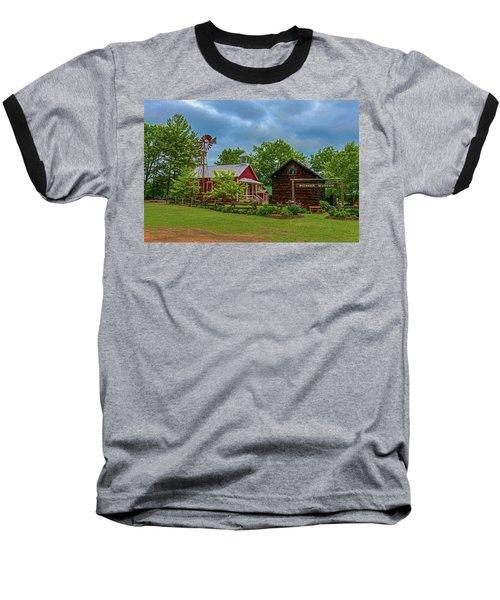 Rosholt Pioneer Park Baseball T-Shirt by Trey Foerster