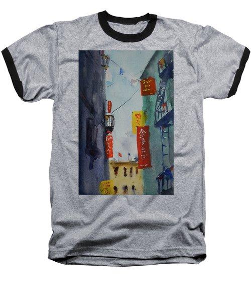 Ross Alley6 Baseball T-Shirt by Tom Simmons