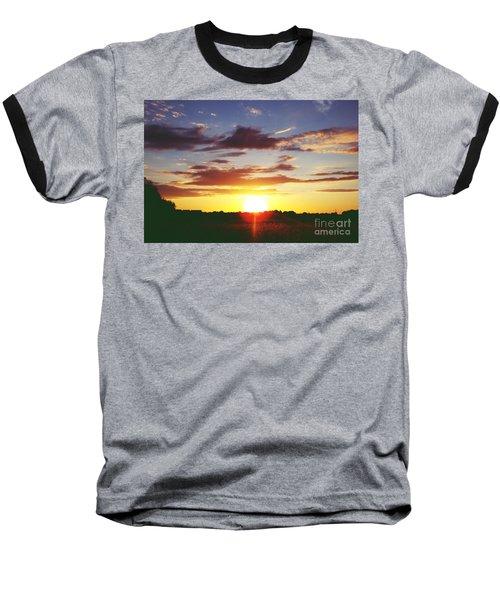 Rossington Sunset 2 Baseball T-Shirt