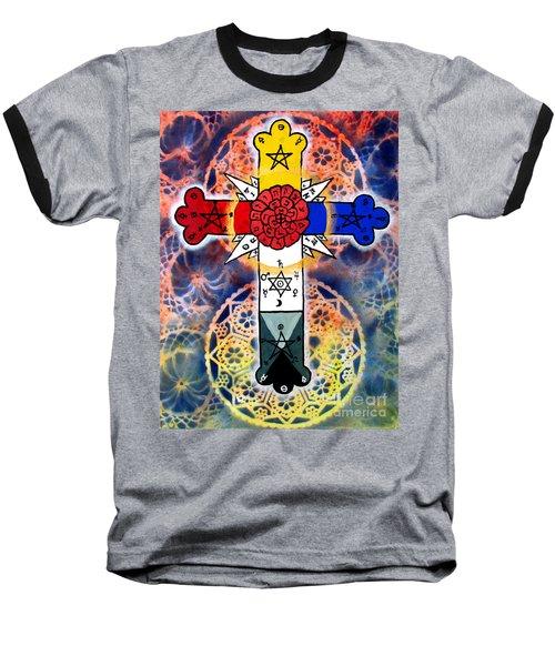 Rosy Cross Baseball T-Shirt