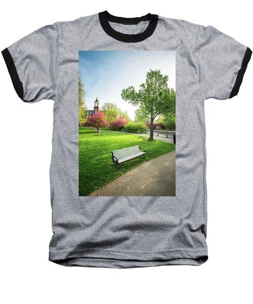 Rotary Park - Busiel Mill  Baseball T-Shirt