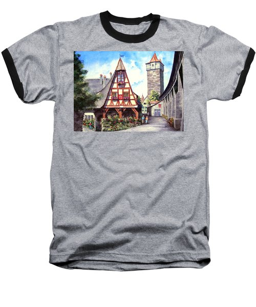 Rothenburg Memories Baseball T-Shirt