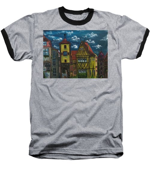 Rothenburg Ob Der Tauber Baseball T-Shirt by The GYPSY And DEBBIE