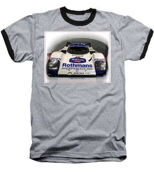 Rothmans Porche Baseball T-Shirt