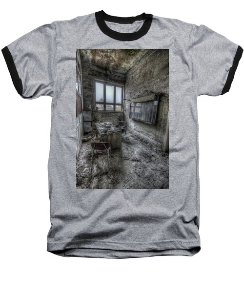 Baseball T-Shirt featuring the digital art Rotten Office by Nathan Wright