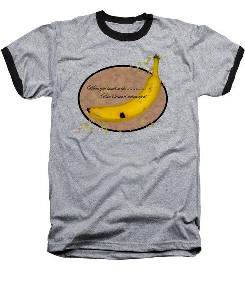 Rotten Spot Baseball T-Shirt