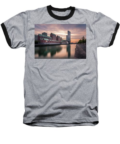 Rotterdam Spoorweghaven Baseball T-Shirt