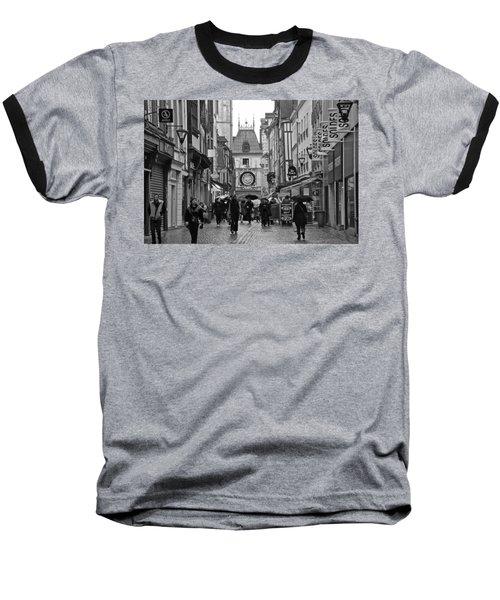 Rouen Street Baseball T-Shirt by Eric Tressler