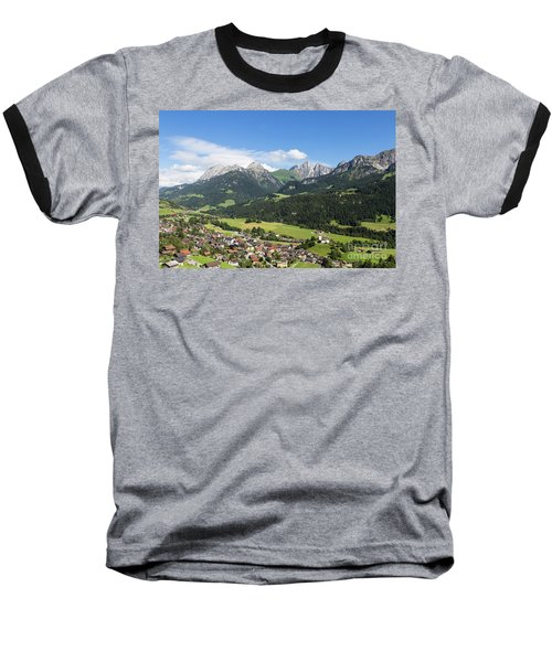 Rougemont Village In Switzerland Baseball T-Shirt