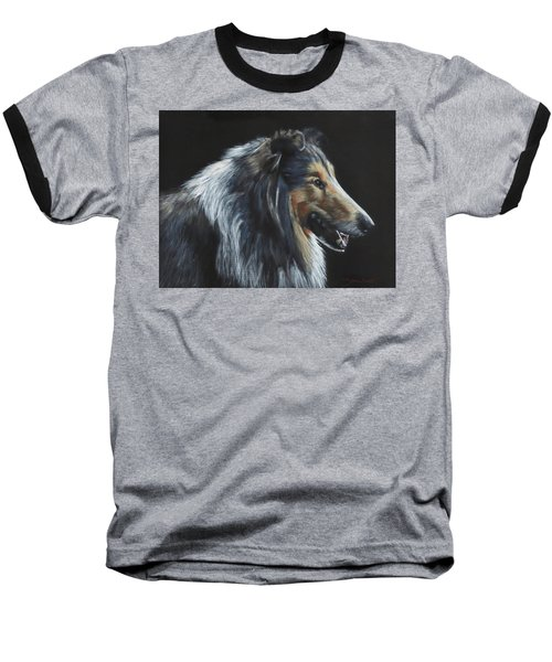 Rough Collie Baseball T-Shirt