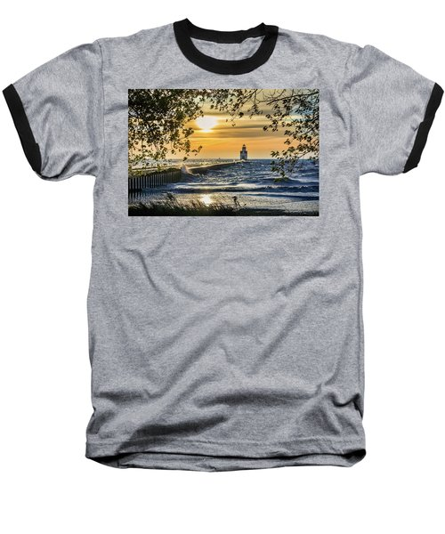 Baseball T-Shirt featuring the photograph Rough Opening by Bill Pevlor