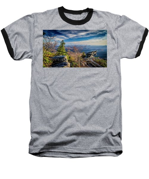 Rough Ridge View Baseball T-Shirt