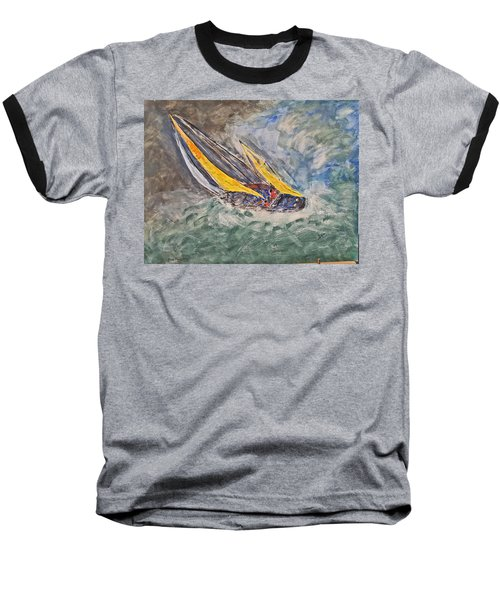 Rough Seas Baseball T-Shirt