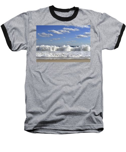 Rough Surf Jersey Shore  Baseball T-Shirt