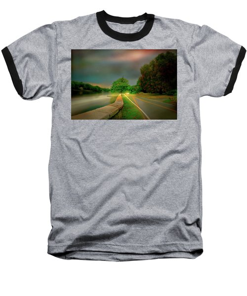 Baseball T-Shirt featuring the photograph Round The Bend by Diana Angstadt