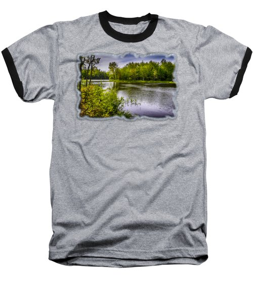 Baseball T-Shirt featuring the photograph Round The Bend In Oil 36 by Mark Myhaver