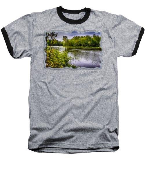 Round The Bend In Oil 36 Baseball T-Shirt