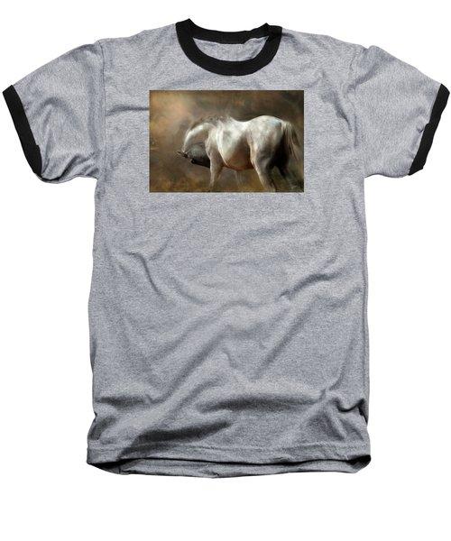 Baseball T-Shirt featuring the digital art Roundness by Dorota Kudyba