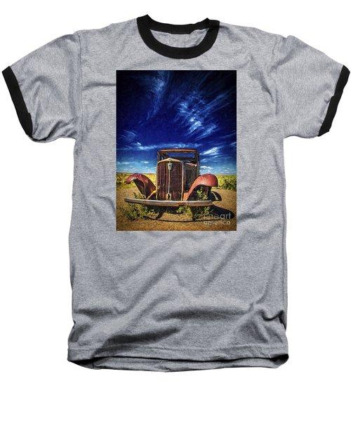 Route 66 Derelict  ... Baseball T-Shirt