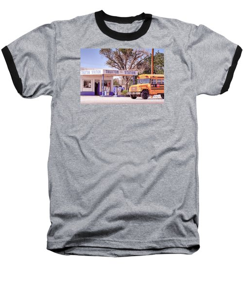 Baseball T-Shirt featuring the photograph Route 66 Impression by Juergen Klust