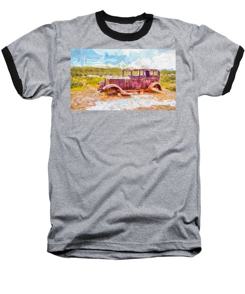 Route 66 Studebaker Baseball T-Shirt