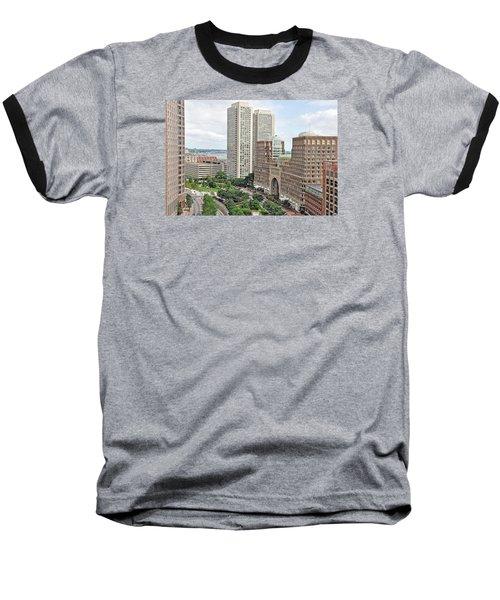 Rowes Wharf Baseball T-Shirt