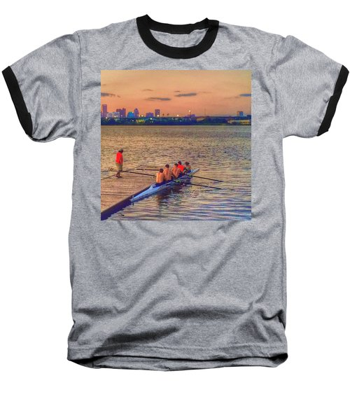 Rowing Club Baseball T-Shirt