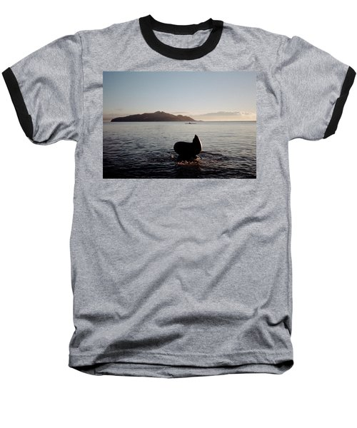 Rowing Off Sausalito, Ca Baseball T-Shirt