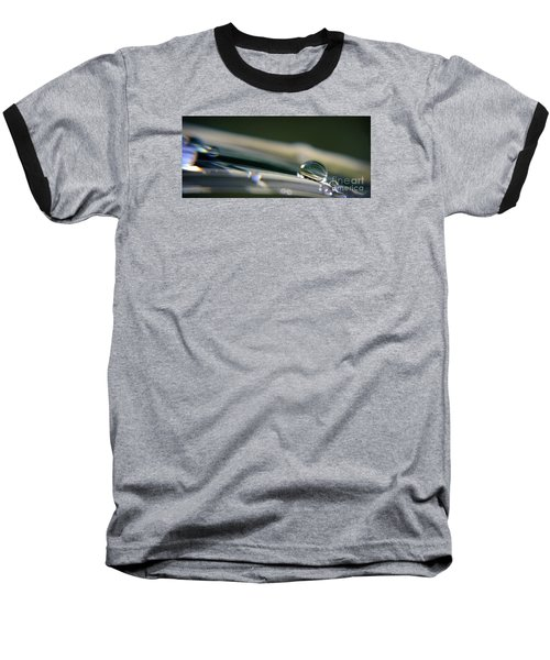 Baseball T-Shirt featuring the photograph Rowling Droplets   by Yumi Johnson