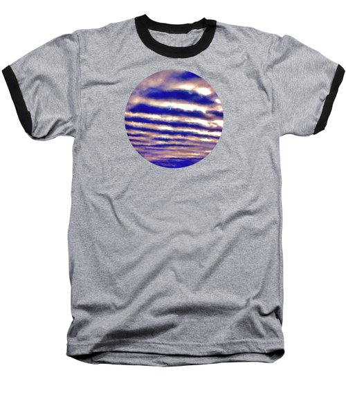 Rows Of Clouds Baseball T-Shirt by Phil Perkins