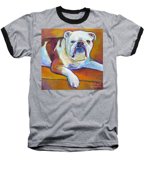 Baseball T-Shirt featuring the painting Roxi by Robert Phelps