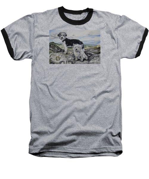 Roxie And Skye Baseball T-Shirt