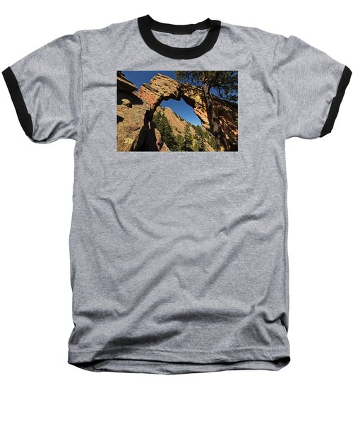 Royal Arch Trail Arch Boulder Colorado Baseball T-Shirt