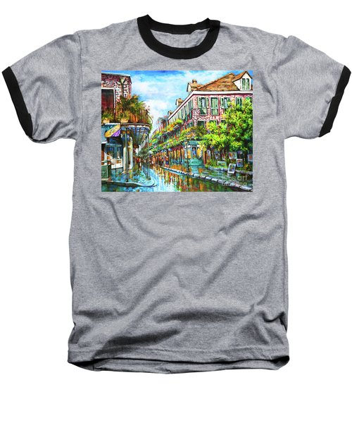 Royal At Pere Antoine Alley, New Orleans French Quarter Baseball T-Shirt