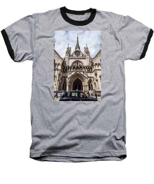 Royal Courts Of Justice In London Baseball T-Shirt