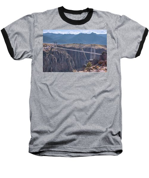 Royal Gorge Bridge Colorado Baseball T-Shirt by James BO Insogna