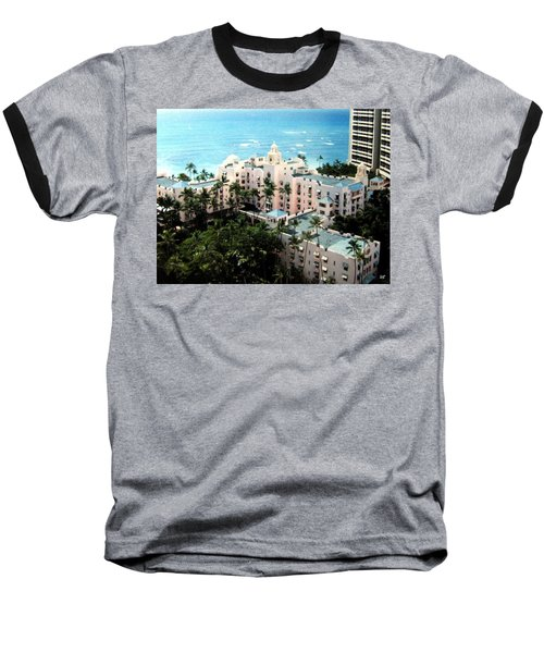 Royal Hawaiian Hotel  Baseball T-Shirt