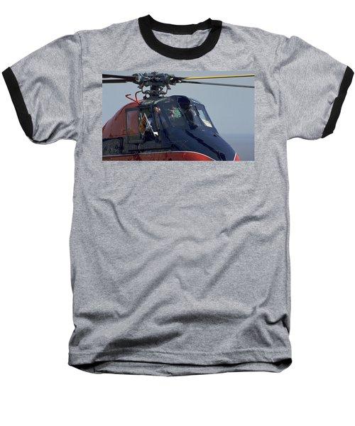 Royal Helicopter Baseball T-Shirt