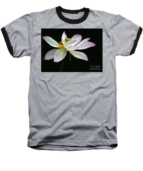 Royal Lotus Baseball T-Shirt