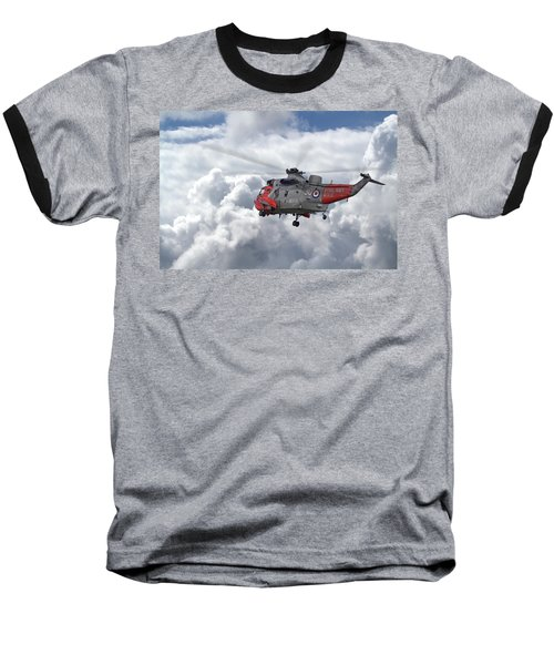 Baseball T-Shirt featuring the photograph Royal Navy - Sea King by Pat Speirs