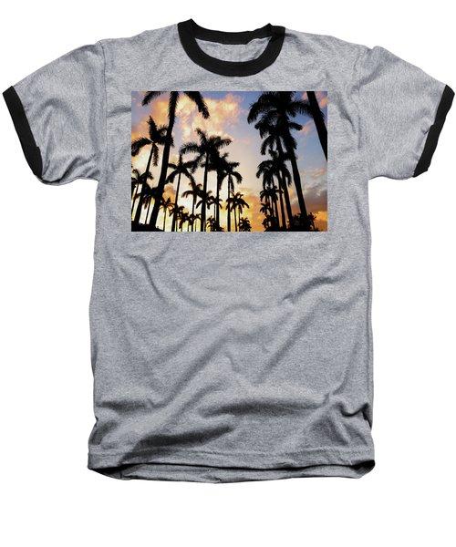 Royal Palm Way Baseball T-Shirt