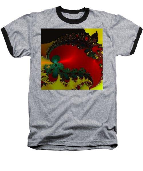 Royal Red Baseball T-Shirt by Kevin Caudill