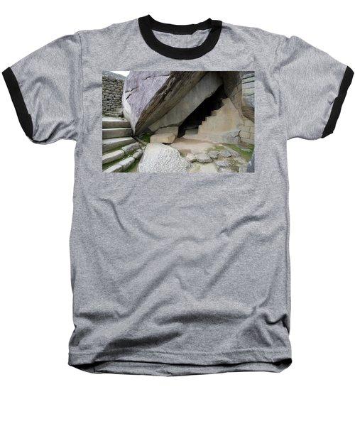 Royal Tomb, Machu Picchu, Peru Baseball T-Shirt by Aidan Moran