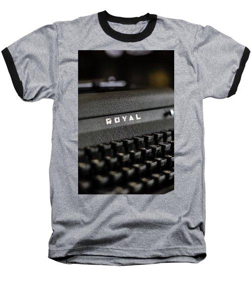 Royal Typewriter #19 Baseball T-Shirt