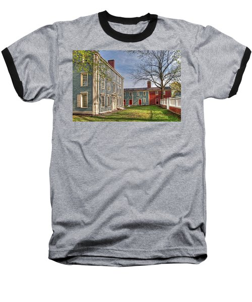 Royall House And Slave Quarters Baseball T-Shirt